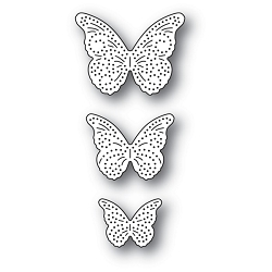 Memory Box - Die - Pinpoint Butterfly Trio