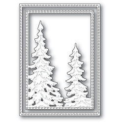 Memory Box - Die - Pine Tree Frame