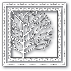 Memory Box - Die - Winter Tree Frame