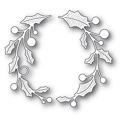Memory Box - Die - Holly Double Arch