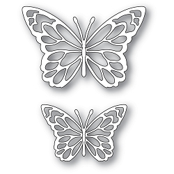Memory Box - Die - Gloriosa Butterfly Duo Outlines