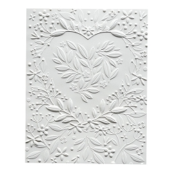 Memory Box - 3D Embossing Folder - Heart Bouquet