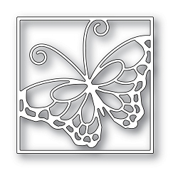 Memory Box - Die - Stained Glass Butterfly
