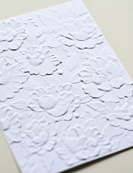 Memory Box - 3D Embossing Folder - Blooming Embossing Folder