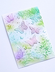 Memory Box - 3D Embossing Folder - Butterfly Gathering
