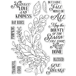 Memory Box - Clear Stamp - Harvest Love and Kindness clear stamp set