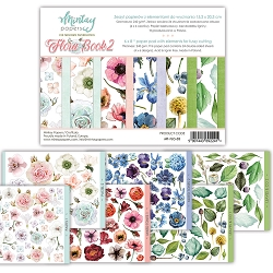 Mintay by Karola - 6 x 8 Flora 2 Book - elements for precise cutting