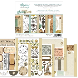 Mintay by Karola - 6 x 8 Junk Book - elements for precise cutting