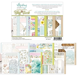 Mintay by Karola - 6 x 8 Tag Book - elements for precise cutting
