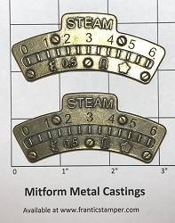 MitForm - Metal Casting - Graduation Arc 1 Large (2 pcs)