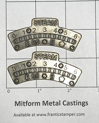 MitForm - Metal Casting - Graduation Arc 1 Small (2 pcs)