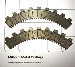 MitForm - Metal Casting - Graduation Arc 2 (2 pcs)