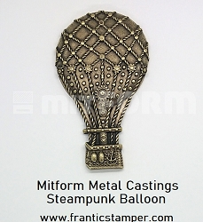 MitForm - Metal Casting - Steampunk Balloon (1 pc)