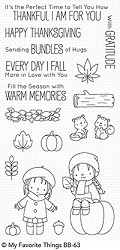 My Favorite Things - Clear Stamp - BB Fall Friends