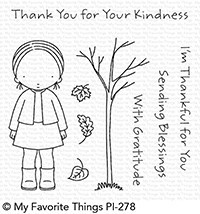 My Favorite Things - Clear Stamp - Pure Innocense Sending Blessings