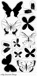 My Favorite Things - Clear Stamp - Beautiful Butterflies