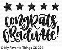 My Favorite Things - Clear Stamp - Star Graduate