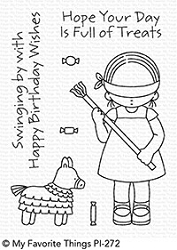 My Favorite Things - Clear Stamp - Pure Innocense Birthday Pinata
