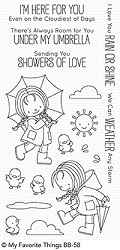 My Favorite Things - Clear Stamp - BB Rain or Shine