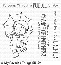 My Favorite Things - Clear Stamp - BB Puddle Jumper
