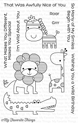 My Favorite Things - Clear Stamp - Wild About You