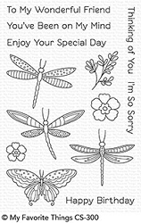 My Favorite Things - Clear Stamp - Fluttering Friends