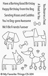 My Favorite Things - Clear Stamp - Dog-gone Awesome
