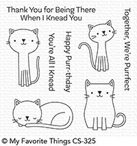 My Favorite Things - Clear Stamp - Cute Cats