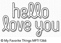 My Favorite Things - Die-namics - Simply Hello & Love You