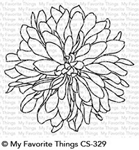 My Favorite Things - Clear Stamp - Beautiful Bloom