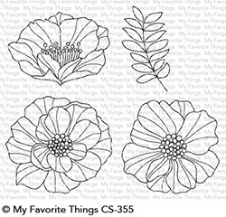 My Favorite Things - Clear Stamp - Brilliant Blooms