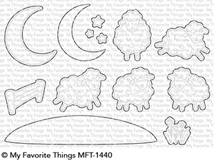 My Favorite Things - Die-namics - Over the Moon for Ewe