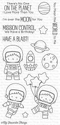 My Favorite Things - Clear Stamp - BB Space Explorer