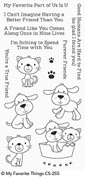 My Favorite Things - Clear Stamp - Furever Friends