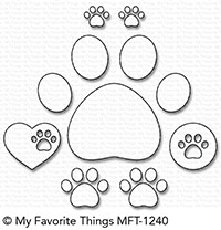 My Favorite Things - Die-namics - Paw Prints