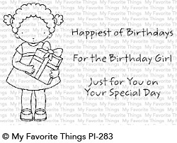 My Favorite Things - Clear Stamp - Pure Innocense For the Birthday Girl