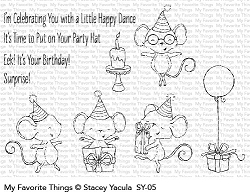 My Favorite Things - Clear Stamp - SY It's a Mice Time to Celebrate