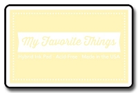 My Favorite Things - Hybrid Ink Pad - Lemon Chiffon