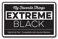 My Favorite Things - Hybrid Ink Pad - Extreme Black