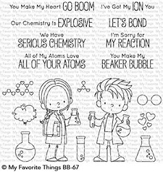 My Favorite Things - Clear Stamp - BB Cute Chemists