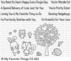 My Favorite Things - Clear Stamp - Wonderful Woodland Friends