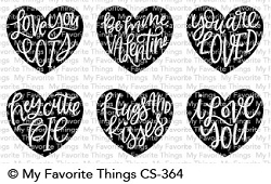 My Favorite Things - Clear Stamp - Heart Art