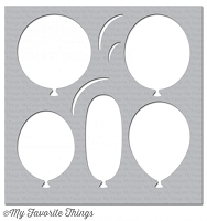 My Favorite Things - MIX-ables Stencils - Big Balloons