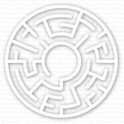 My Favorite Things - Maze Shapes - White
