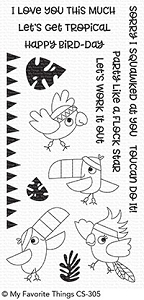 My Favorite Things - Clear Stamp - Toucan Do It