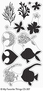 My Favorite Things - Clear Stamp - Adorned Ocean Friends