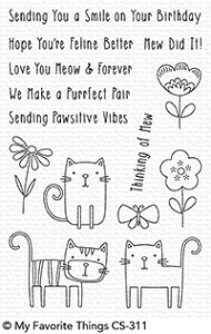 My Favorite Things - Clear Stamp - Meow Mix