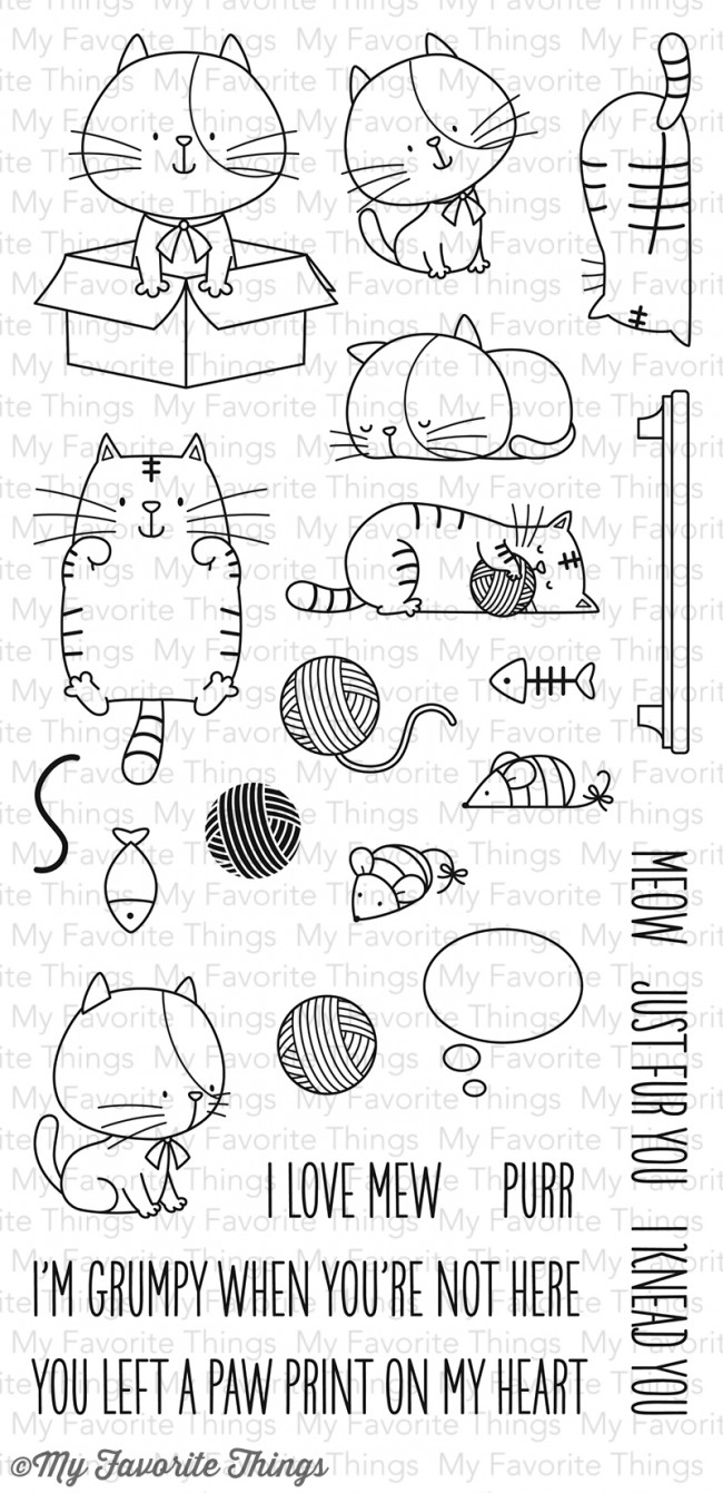 My Favorite Things Clear Stamp I Knead You