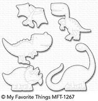 My Favorite Things - Die-namics - Delightful Dinosaurs