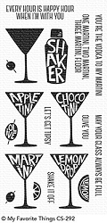 My Favorite Things - Clear Stamp - Martini Time